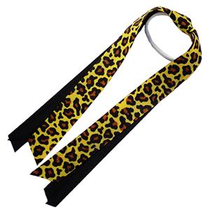 Red Lion Leopard Ribbon Ponytail Streamers