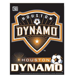 Houston Dynamo Vertical Soccer Banner/Flag