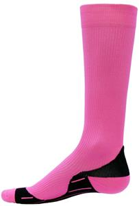 Red Lion Neon Glide Pink Compression Socks CO