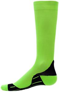 Red Lion Neon Glide Green Compression Socks