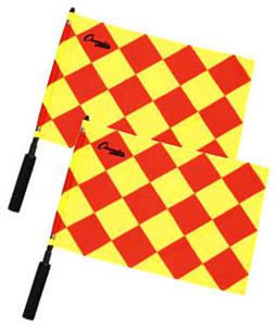 Champion Diamond Soccer Linesman Flags-Set of 2