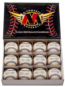 M Powered All Weather Raised Seam Baseballs