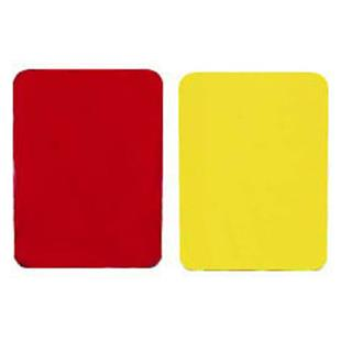 Champion Soccer Ref Red/Yellow Cards (pack of 2)