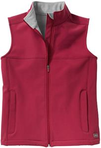 Charles River Womens Microfleece Soft Shell Vest