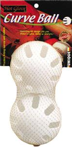 Unique Sports Hot Glove Plastic Curve Softballs