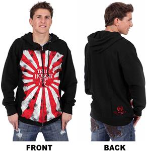 True Honor Mens Rising Sun Hoodie