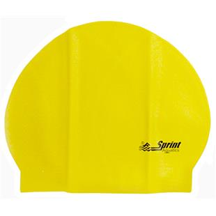Sprint Aquatics Solid Latex Swim Cap