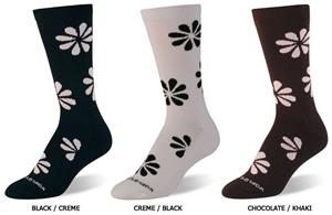 World&#39;s Softest Everyday Floral Trouser Socks