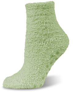 World's Softest Cozy Spa 1/4 Socks w/Grippers 6PR