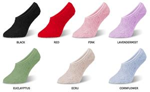 World&#39;s Softest Spa Footsie Socks (6 PAIR)