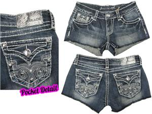 Grace in L.A.Bling Pocket Short Shorts
