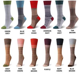 World&#39;s Softest Gallery Crew Socks (6 PAIR)