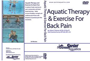 Sprint Aquatic Therapy Exercise for Back Pain DVD