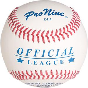 Pro Nine Official League Game Baseballs (DZ)
