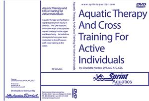 Sprints Aquatic Therapy & Cross Training DVD