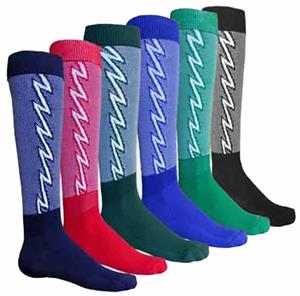 Red Lion Lightning Bolt Athletic Socks