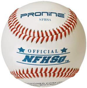 Pro Nine High School NFHSA Game Baseballs (DZ)
