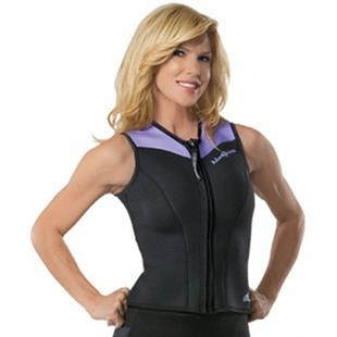 NeoSport Women Front Zip Wetsuits 2.5MM Sport Vest