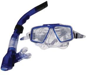 Sprint Aquatics Caribbean Combo Set Mask & Snorkel