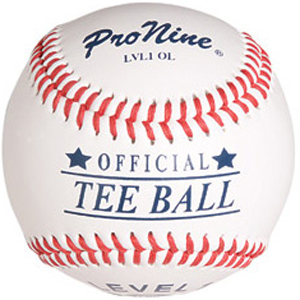 Pro Nine Official Tee Ball Baseballs (DZ)