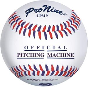 "Pro Nine Official 9"" Pitching Machine Baseball -DZ"