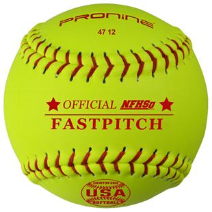Pro Nine Official ASA/NFHS Fastpitch Softball (DZ)