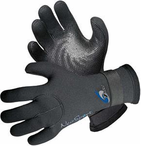 NeoSport 3mm, 5mm, 7mm Velcro Neoprene Gloves