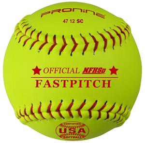 "Pro Nine Synthetic Cover 12"" Fastpitch Softball-DZ"