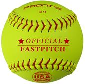 "Pro Nine Official 11"" ASA Fastpitch Softball (DZ)"