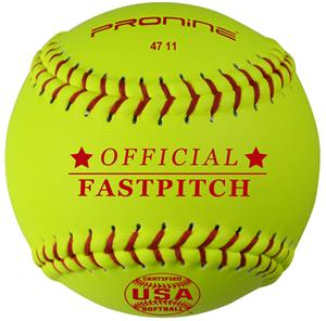 Pro Nine Official 11&quot; ASA Fastpitch Softball (DZ)