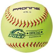 "Pro Nine Youth Pony 12"" Fastpitch Softball (DZ)"