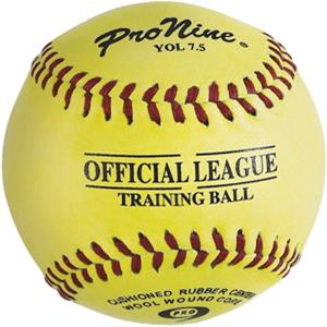 "Pro Nine 7.5"" Training Ball Baseballs (DZ)"