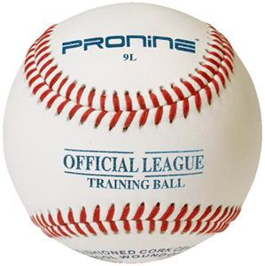 Pro Nine 9&quot; White Training Ball Baseballs (DZ)