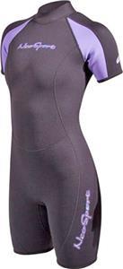 NeoSport Womens 2mm, 3mm Neoprene Shorty Wetsuit