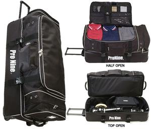 Pro Nine Baseball Umpire Rolling Bag
