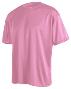 Game Gear SS Solid Pink Performance Tech Shirts