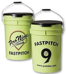 Pro Nine Fastpitch Softball Bucket