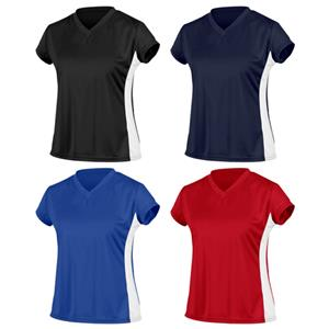 Game Gear Womens Paneled Performance Tech Tops