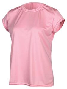 Game Gear Womens Solid Pink Performance Tech Tops