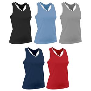 Game Gear Womens Racer Back Performance Tech Tops