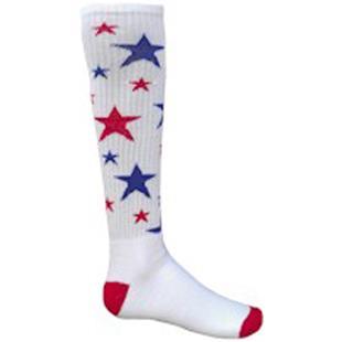 Red Lion Celebrity Stars Athletic Socks