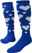 Red Lion Heart Athletic Socks