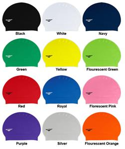 The Finals Solid Latex Swim Caps