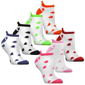 Red Lion Sweetheart Girls Footie Socks-7 Colors