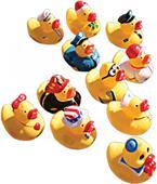 """Sprint Aquatics 4"""" Ducks - Set of 11"""