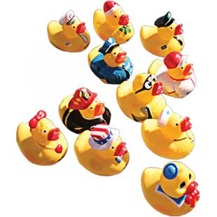 "Sprint Aquatics 4"" Ducks - Set of 11"