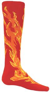 Red Lion Flame Athletic Socks
