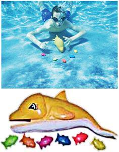 Sprint Aquatics Dolphin Feeding Game