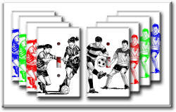 Closeout - Soccer Switch Plate unique soccer gifts