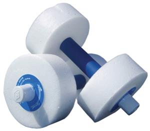 Sprint Aquatics White Hand Bells Medium